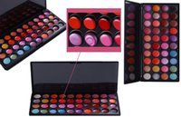 Wholesale professional cosmetic colors makeup palette lip gloss set powder lipstick european brand daily makeup all skin types cosmetic