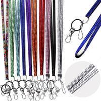 Wholesale New Arrivals Cell Phone Straps Charms Keys Lanyard Mobile Accessories Alloy Rhinestone Bling Mixed Color CX288