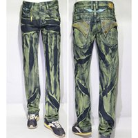 Wholesale 2015 Robin Jeans Men Diamonds With Wings American Flag JEANS Straight Denim Cowboy Famous Brand Slim Designer Men Pants Size
