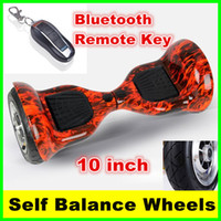 Wholesale Fast Deliver New Electric Scooters Skateboard Smart Balance Wheel inch Two Wheels Self Balancing Bluetooth Scooter Remote Keys