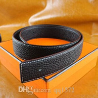Wholesale Genuine Leather belt belt luxury fashion designer series smooth