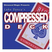 magic deck - Luke Dancy Compressed Deck Only magic teaching video send via email Card magic
