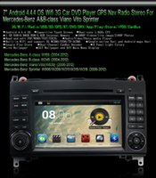 Wholesale 7 quot Android Car DVD Player for Mercedes Benz A B Class W906 W315 W169 W245 GPS Free GB Card SCYF0488