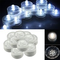 Wholesale New Home Lights LED lamps Submersible Waterproof Wedding Underwater Tea Light Sub LED high quality