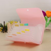 Wholesale Office File Document Folder Bag Case Bills Receipts Pouch Card Holder Organizer order lt no track