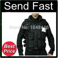 military equipment - 100 As Movie Shown Military Combat Tactical Vest outdoor gear riding vest U S Secret SWAT vest CS field equipment