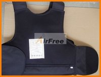 Wholesale Kevlar Bulletproof Vest Body Armor BULLETPROOF jacket Size M Black Color