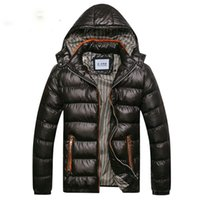 Wholesale New Arrival Men Winter Fashion Casual Down Parka Hooded Man Coat Jacket Windproof High Quality Plus Size