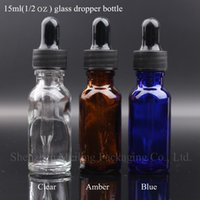 jar glass - Most Popular ML Amber Glass Bottle With Plastic Black Dropper Essential Oil Bottle With Dropper In Special Design Small Glass Jars Hot