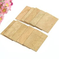 Wholesale E79 Set of New Natural Sax Saxophone Neck Cork Sheet For Saxophone