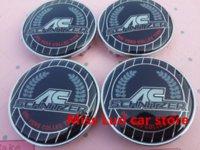 ac schnitzer center caps - 4pcs mm AC colorful schnitzer car emblem Wheel Center Hub Caps Dust proof Badge covers Auto accessories