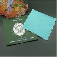 Wholesale High grade deer velvet polishing Cotton Silver Jewelry Polishing Cloth Cleaning Cloths
