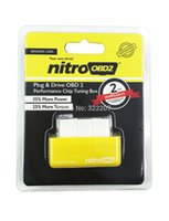 best chevy engines - Newly and best NitroOBD2 Chip Tuning Box interface Plug and Drive nitro OBD2 BENZINE For increasing the performance of engine