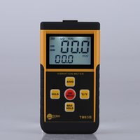 Wholesale Professional Digital Vibrometer Vibration Analyzer Tester Temperature Meter with LCD Backlight Maximum Value Hold Function