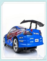 Electric toys electric motor car - 2015 Cars Toys for Children psc New Arrival Rc Racing Car Drift Remote Control wd Electric Toy Blue Color By Ems