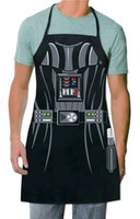 Wholesale 6 styles star wars Apron Darth vader Anime Cartoon Character Series Kitchen Apron stormtrooper Personality Cooking Apron C432