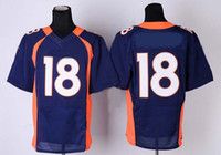 Wholesale Peyton Manning Elite Jersey Cheap American Football Jersey Embroidery logos Rugby Jersey Authentic Jersey