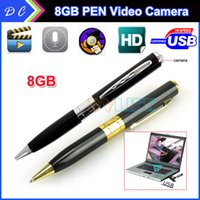 Cheap None 2015 32GB Hot Mini SPY Pen Camera Hidden Best pen  Hidden Pinhole DVR Camcorder Video Recor