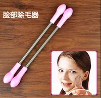 facial hair remover - 1000pcs Face Facial Hair Spring Remover Stick Removal Threading Nice Tool Epilator Face Tool By DHL