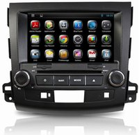 Wholesale car dvd Pure Android Car GPS DVD Player for Mitsubishi Outlander XL EX Capacitive Screen Dual Core A9