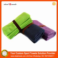 Wholesale Hot sales Quick dry hiigh end soft textile yoga blanket mix color custom logo welcome fast shipping