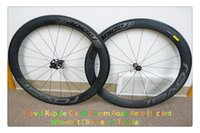 Wholesale 60mm Roval Rapide Clx Road Ae full carbon road bike wheelset full carbon wheelset clincher tubularcarbon hub is availabler