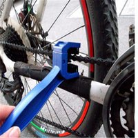 Wholesale 1pcs High quality Motorcycle Bicycle Chain Brush Crankset Cleaner Cleaning Tool motorbike Clean Accessory Blue Bike