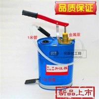 barrel pump hand - Hand with a barrel gear oil Dispenser Hand pressure gear oil Dispenser Oil Dispenser grade metal pump