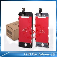 Wholesale Quality AAA Black White LCD Display New Touch Screen Digitizer LCD iPhone G