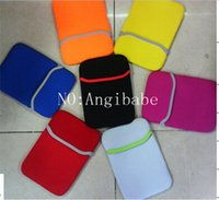 Wholesale 7 inch table sleeve bag Cover Case Sleeve protector Soft Neoprene Laptop sleeves for ipad mini Galaxy table kindle fire