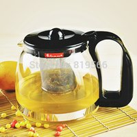 Wholesale Glass Teapot ml With Filter Heat Resistant Glass Tea Pot Chinese Drinkware Kettle Infuser Set Coffee Pot Household Service