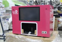 Wholesale Intelligent Digital Touch Screen Nail Printer Flatbed Printer for Flower Nail Toenail With CE
