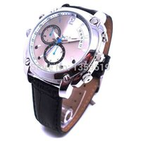 ir camera - Waterproof P Watch Camera GB with IR night vision Spy Watch Hidden Pinhole camera mini DVR in retail package