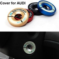 audi ignition switch - New Car Styling Fashion Style Luminous Ignition Switch Cover for Audi A1 A3 A4 A6 TT TTS Interior Accessories