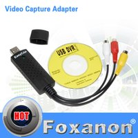 Wholesale USB Easycap dc60 tv dvd vhs video Capture adapter Easy cap card Audio AV mmm for vista win8 win7 XP Fast