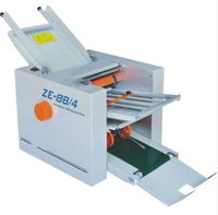 automatic paper folders - Brand New Automatic Paper folding machine Paper Folder Machine ZE B Fold plate