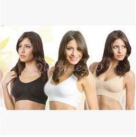 bras - 3 Colors S XL Seamless Sports Bra Fashion Single Layer Bra Ahh Bra Shaperwear Bra Seamless Sports Bra Yoga Bra CCA3416 set