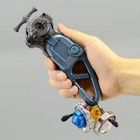 alloy pull starter - 2016 Beyblade Left Right Spin Pull Starter Bey Launcher LR with Beltloop Hand Grip Kit