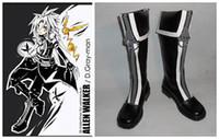 allen walker boots - New Top Fashion Freeshipping Sapatos Femininos Autumn Boots D Gray man Allen Walker Cosplay Costume Boots Boot Shoes Shoe