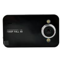 Car DVR K6000 1080P Full HD LED Night Vision Recorder Dashboard Veicular dashcam Caméra Carcam vidéo Registrator voiture DVR