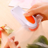 Wholesale Random Color Portable Mini Heat Sealing Machine Impulse Sealer Seal Packing Plastic Bag NEW TY1511
