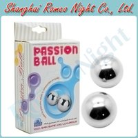 Female ben wa balls steel - Passion Solid Steel Giggle Balls Advanced Vagina Trainer Ben Wa Balls Women Sex Toys Penis Adult Products