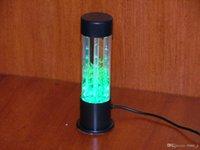lava lamp - USB AC WATER PLANT NIGHT LIGHT LAVA LAMP BUBBLE BLUE green