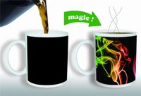 amazing unique gifts - Unique Gifts Magic Cup Amazing Coffee Mug Heat Sensitive Color change Mug Smoke Cup by DHL