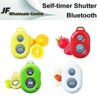 Wholesale Remote Control Bluetooth Remote Phone Camera Control Self timer Shutter Phone Clip Camera Monopod for iPhone6 Iphone s Galaxy S5 S4