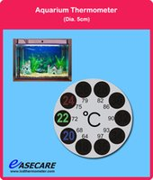 Wholesale by DHL Aquarium Thermometer for Fish Tank degree in Celsius and Fahrenheit scale