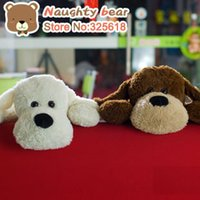 artificial dogs - Stuffed Toys Plush Animals Big dog high quality high artificial plush toy doll gift