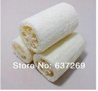 Wholesale Natural Loofah Bath Shower Sponge Spa and Body Scrubber Exfoliator Bath Towel Bathroom