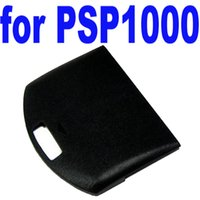 Wholesale New High Quality Replacement Battery Back Door Cover Case For Sony For PSP Black Hot Sale order lt no track