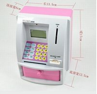 bank atm card - New Mini Electronic ATM Bank Secret Bank With Security Card Coin Piggy Bank Great Gift For Children